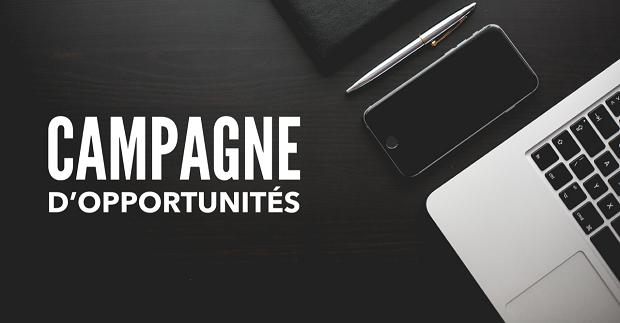 Campagne d'opportunités